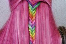 Elvish Hair / Some Elvish Fantastic Haircolours!