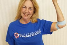 Blood Recipients / Each day 40,000 people in the United States receive blood transfusions. Thanks to generous donors the blood is available. See their stories.