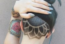 Hair tattoos