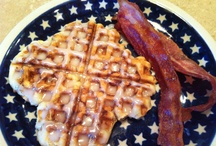 Food: Breakfast, Brunch & Eggy / All things bread and eggy for Breakfast and Brunch! Pancakes, Waffles, French Toast and specialty butters & syrups. Brunch style Quiche, Hashbrowns & Tea sandwiches. / by Andrea Morrone