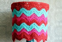 crochet lampshades / by Sonja