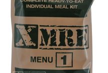 MREs / Meals Ready to Eat or MREs