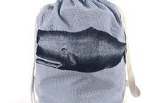 Coastal Style Laundry Bags