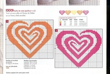 Embroidery - Hearts Patterns
