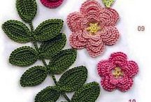 örgü çiçek