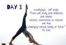 30 Day Yoga Evolution / Transforming lives with sustainable yoga lifestyle practices.