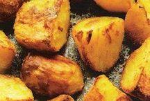 gebakken aardappelen uit de oven