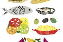 FOOD // ART & ILLUSTRATION