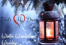 Winter Wonderland Wedding / Christmas Bride