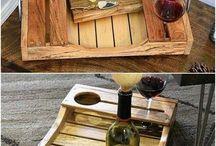 Vyrobiť - drevo