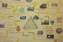 C. Colón y civi precolombinas