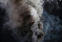 Smoke, cafe & sky
