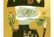 Art I ♥ #2 - Illustration & Drawing Close Up - Matte Stephens / by Helen Davison
