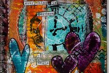 Art journaling / by M George