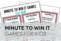 minute to win it / by Sarah Byers