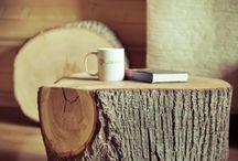 Decorar con troncos / Decoración