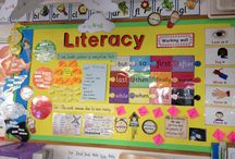 Literacy working wall