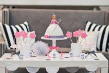 Pink & Grey Party Ideas ♥