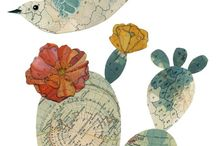 Art using maps & pages
