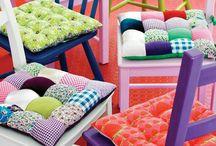 poduszki i pokrowce na krzesła