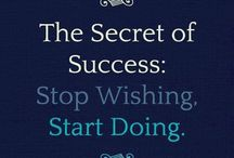 Success / Here's your board for unlocking the secrets of success!