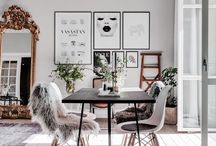 romantic scandinavian interior