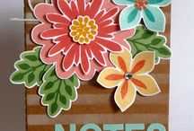 Stampin' Up! - Flower Patch / Project using the 'Flower Patch' stamp set.