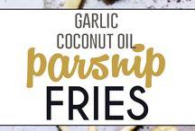 coconut oil Fries/recipes
