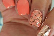 Gel lack spring nails