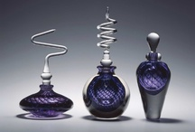 perfume bottles and beautiful glass / by Annie Hammer