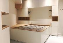 Design Inbouwkast / Handgemaakte kasten