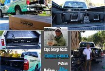 DECKED ProTeam / Our ProTeam use their DECKED systems to help them get the most out of their trucks.
