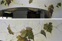 malarstwo na ścianie