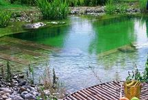 piscinas naturales y hot tubs