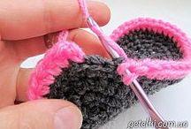 Booties crochet