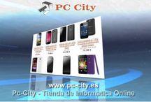 Pc-City - Tienda de Informatica Online / http://www.pc-city.es  Pc City, tienda de productos informáticos, telefonia libre y accesorios, Consolas, videojuegos y accesorios, diseño web, diseño grafico, impresión,comercio