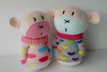 Bonecas de meias