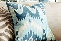 Pillows With Punch / One of the simplest ways to give a room an instant facelift is to add some fresh pillows in varying sizes, fabrics and patterns.