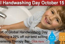 Special Offers / http://www.syrinxza.com/natural-skin-care/global-handwashing-day/ / by Syrinx ZA