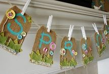 Banners / banners, pennants,