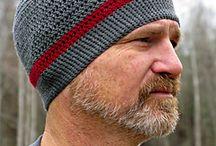 crotchet MEN hat
