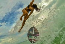 Surfing vs Skimboarding