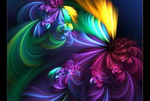 ~Fractals~Eye Catching~ / `~Amazing Creations~ Love the Colors~