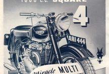 Vintage motorcycle ads / Vintage motorcycle ads