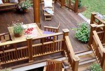 Decks outside