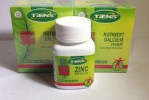 PENINGGI BADAN HERBALL / Paket peninggi badan zinc tiens + Nutrient High Calcium Powder (NHCP) berpom dan halal MUI.