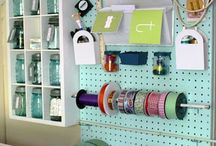 craft room-organization generally?- Marcia / project with Marcia / by Karen Scott