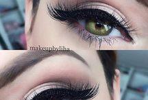 øyenskygge grønne øyne