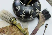 oriental art: bruches etc