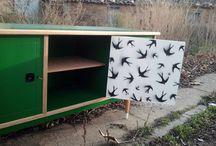 ******* | IDEAS NOMADAS | ******* / Diseño de mobiliario y objetos. Reciclaje creativo. KyzyMoroz®